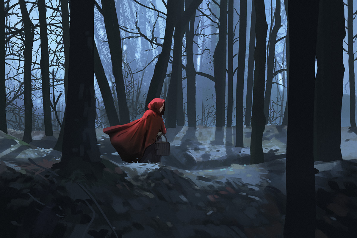 Sketch collection 4 2018 Red riding hood, Atey Ghailan_04