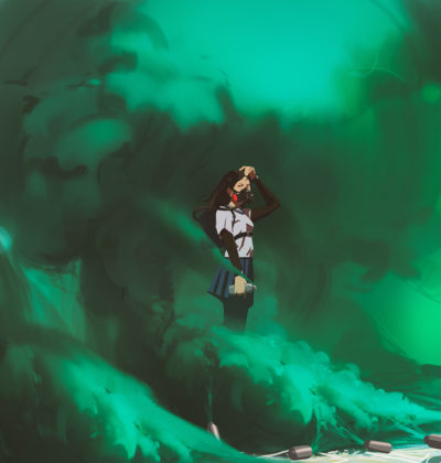 Sketch collection 4 2019 Green smoke, Atey Ghailan_02
