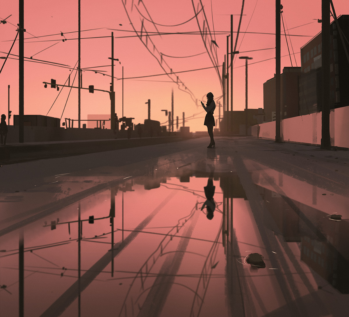 Sketch collection 6 2018 After the rain, Atey Ghailan_01