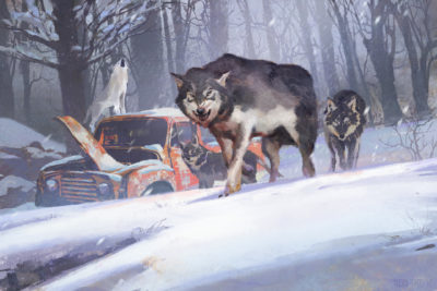 Sons of the Pack Sons of the pack finished image., Yujin Choo_01