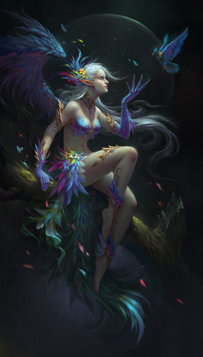 Spirit of the bird, wenfei ye_01
