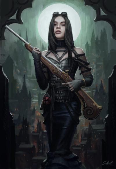 Steampunk Huntress, Stefan Koidl_01