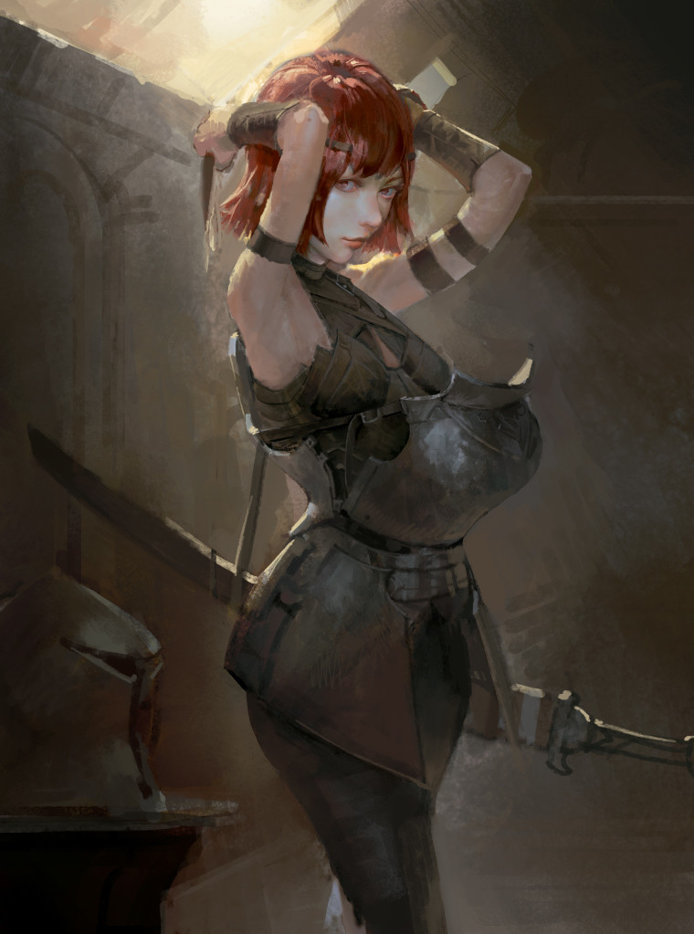 Sword girl, YOUNG IL CHOI_01