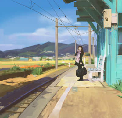 Train station, Atey Ghailan_01