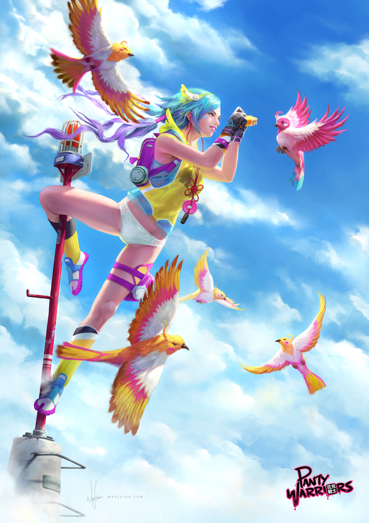 Up and Free~~ With Sky!, Wenjuinn Png_02