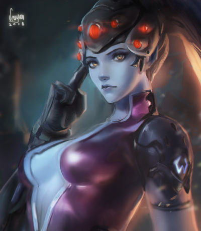 Widowmaker OW, Seuyan art_01
