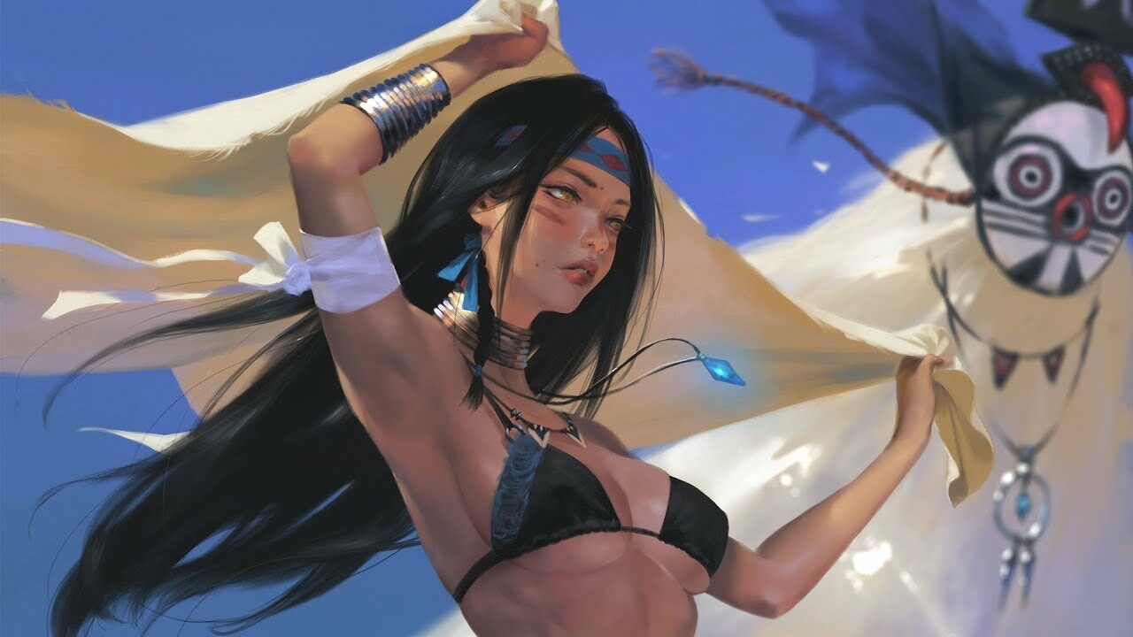 Wind- Photoshop painting 16x speed edit 포토샵 페인팅, Taejune Kim_02