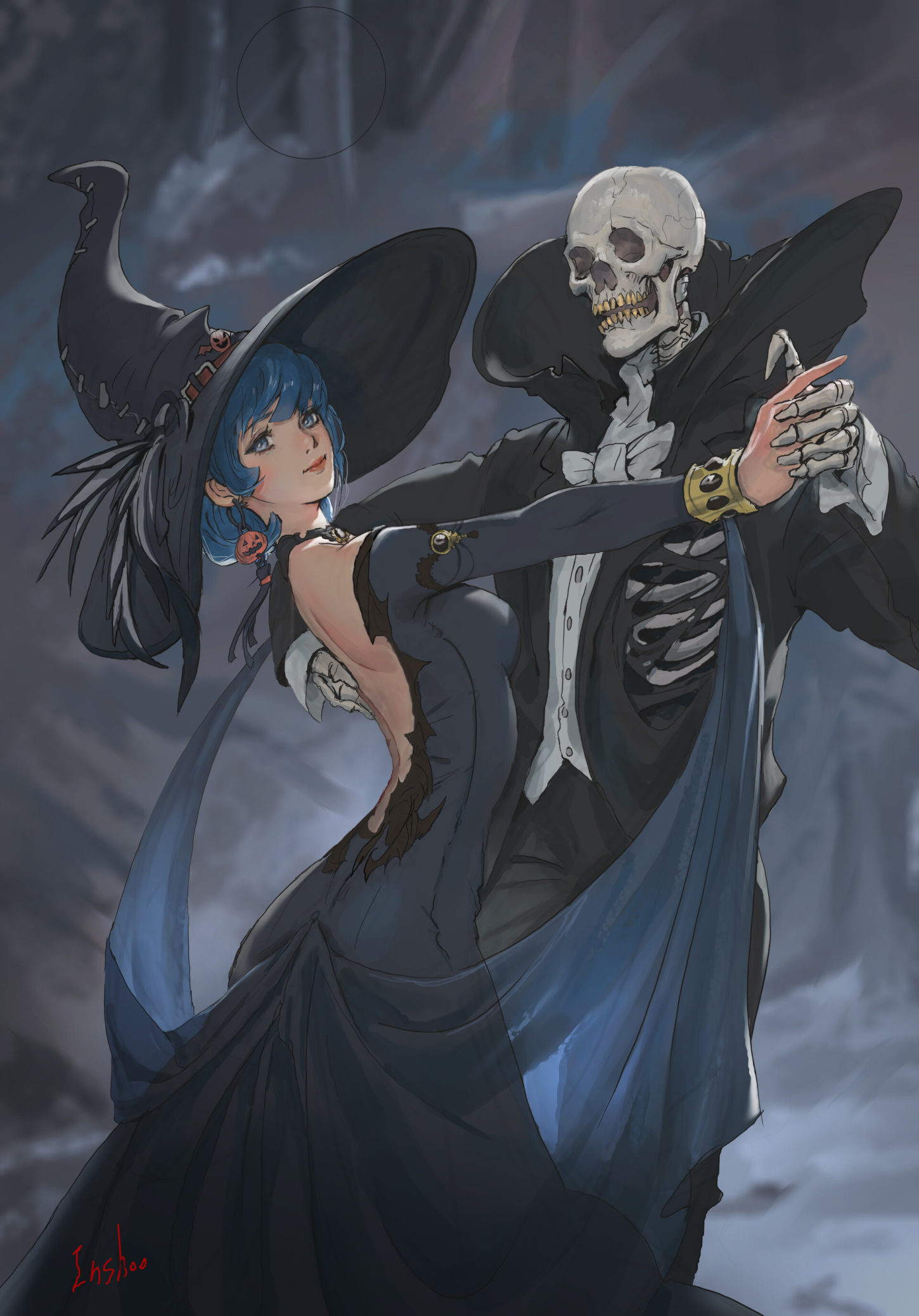 Witch and Skeleton Dance, in shoo_01