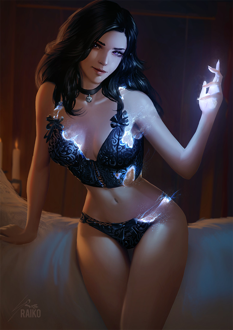 Yennefer Pin-up, Sean 'Raiko' Tay_01