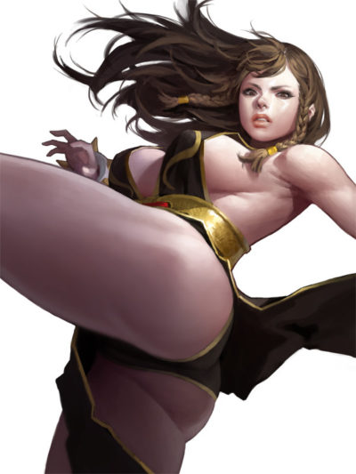 __chun_li_street_fighter_and_1_more_drawn_by_dongho_kang__c23c46b76756f43f78cb7d4b0a17dc74