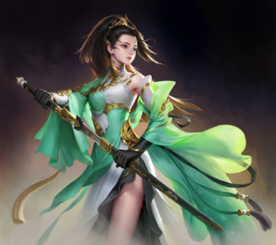 warrior, wenfei ye_01