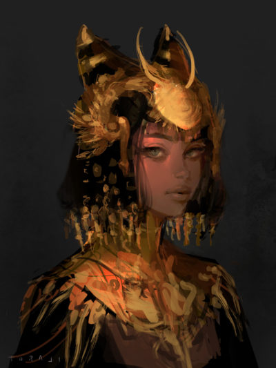 Ancient girl, Toraji ._01