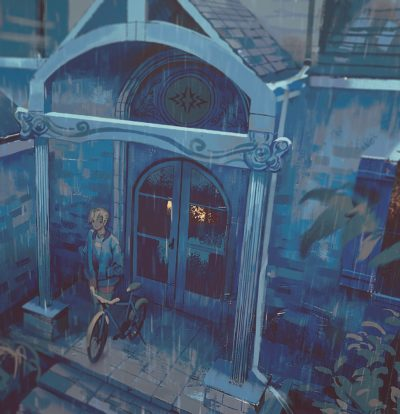 Blue Lion House by Klegs