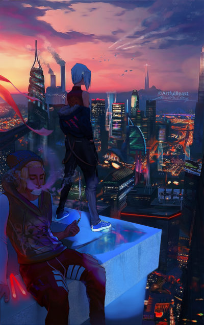 Dusk In The City, Paul Nong_01