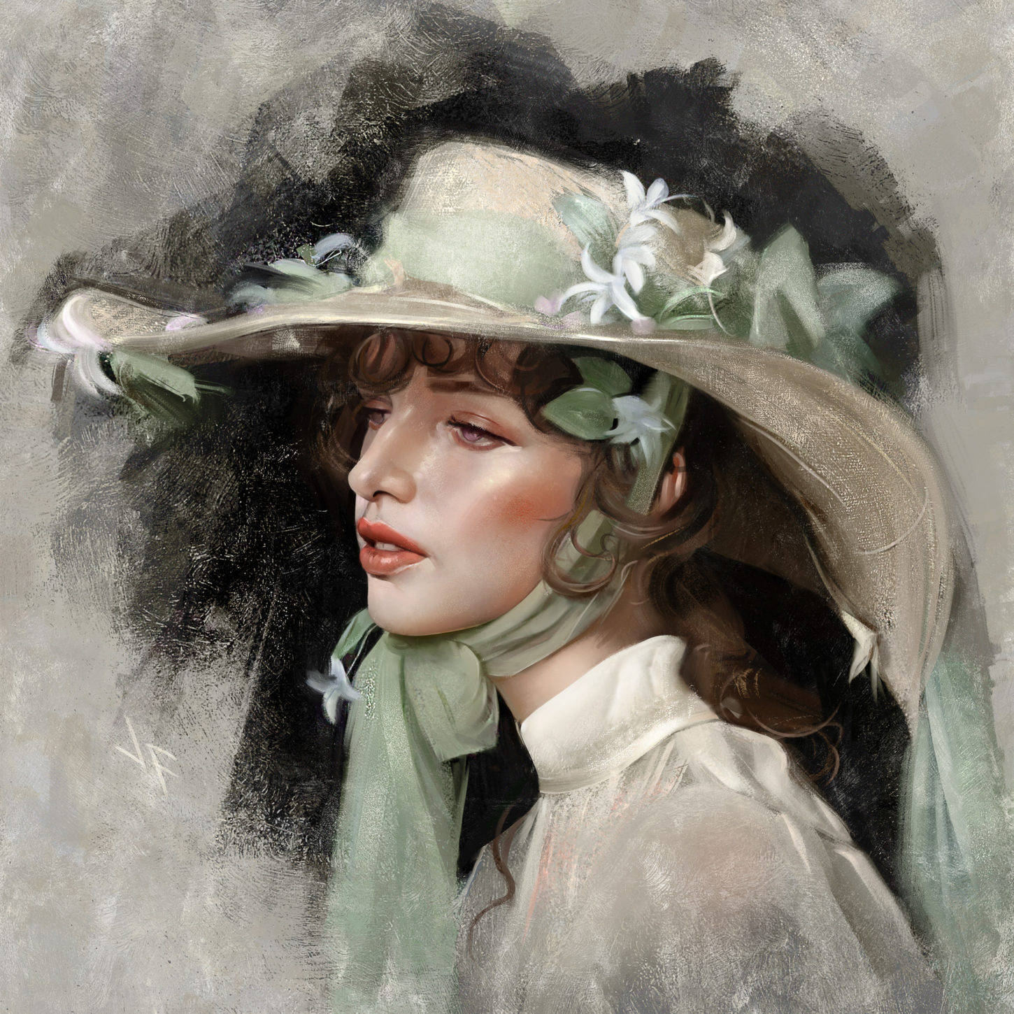 Girl with hat, Justine Florentino_01