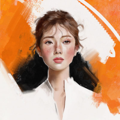 Portrait Study 2162018 experimenting with style, Justine Florentino_01