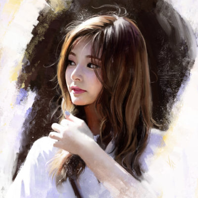 Tzuyu Study the light of the reference really grabbed me and i wanted to study it, Justine Florentino_01