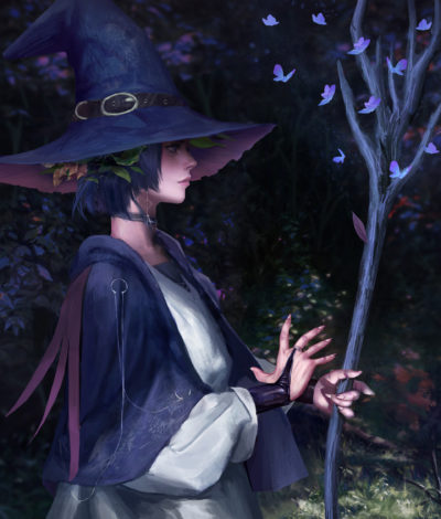 Witch of the Blue Forest, Sloth Being_01