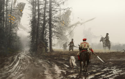 1863 – they feed and defend, Jakub Rozalski_01