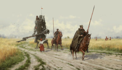 1920 – Polanian Lancers on the patrol, Jakub Rozalski_01