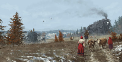 1920 – back home, Jakub Rozalski_01