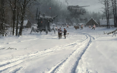 1920 – battle before the battle, Jakub Rozalski_01
