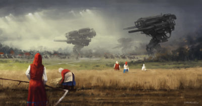 1920 – before the storm, Jakub Rozalski_01
