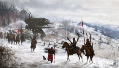 1920 – black wings, Jakub Rozalski_01