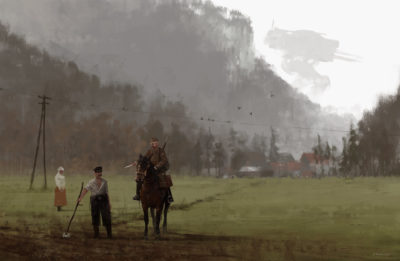 1920 – call of duty, Jakub Rozalski_01