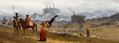 1920 – great steppes, Jakub Rozalski_01
