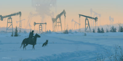 1920 – iron fields, Jakub Rozalski_01