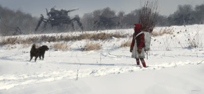 1920 – it's time to back home, Jakub Rozalski_01
