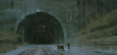 1920 – king of the underworld, Jakub Rozalski_01