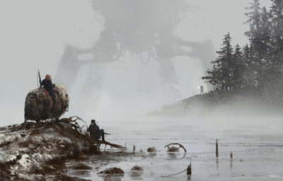 1920 – lost in the fog, Jakub Rozalski_01