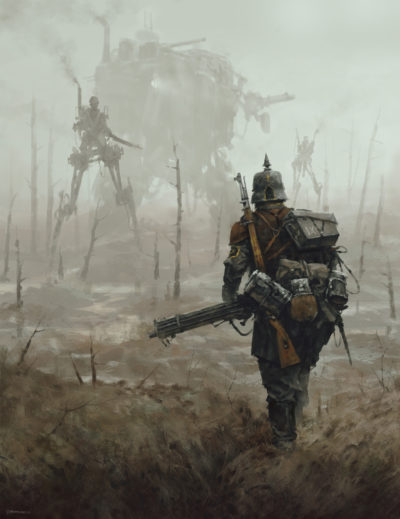 1920 – no man's land, Jakub Rozalski_01