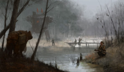 1920 – revolution can wait, Jakub Rozalski_01