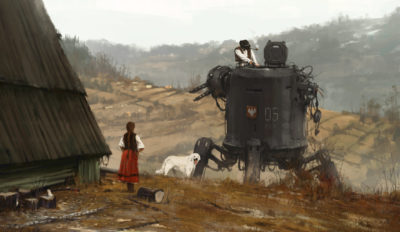 1920 – soup is waiting, Jakub Rozalski_01