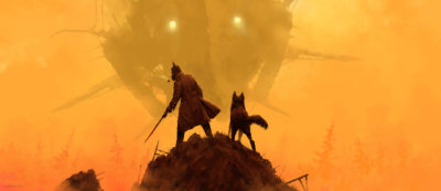 1920 – take your dog for a walk, Jakub Rozalski_01