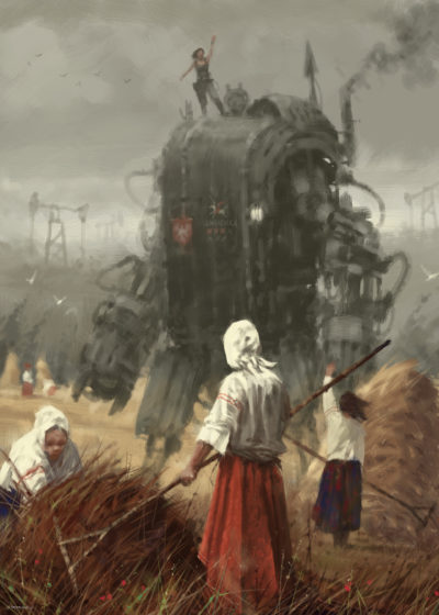1920 – the youngest sister, Jakub Rozalski_01