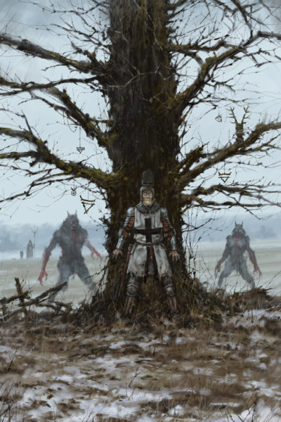 Brother Zygfryd and the Last Crusade, Jakub Rozalski_01