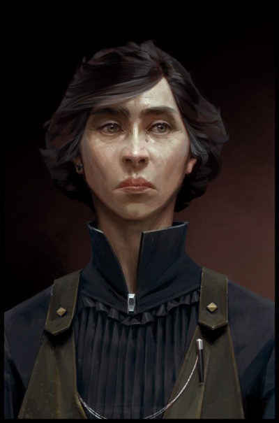 Concept art for Dishonored 2 Alexandria Hypatia, Sergey Kolesov_03