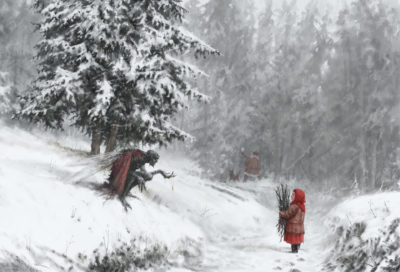Go ahead, take it. It will be our secret. , Jakub Rozalski_01