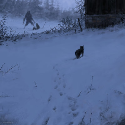 Night hunters, Jakub Rozalski_01