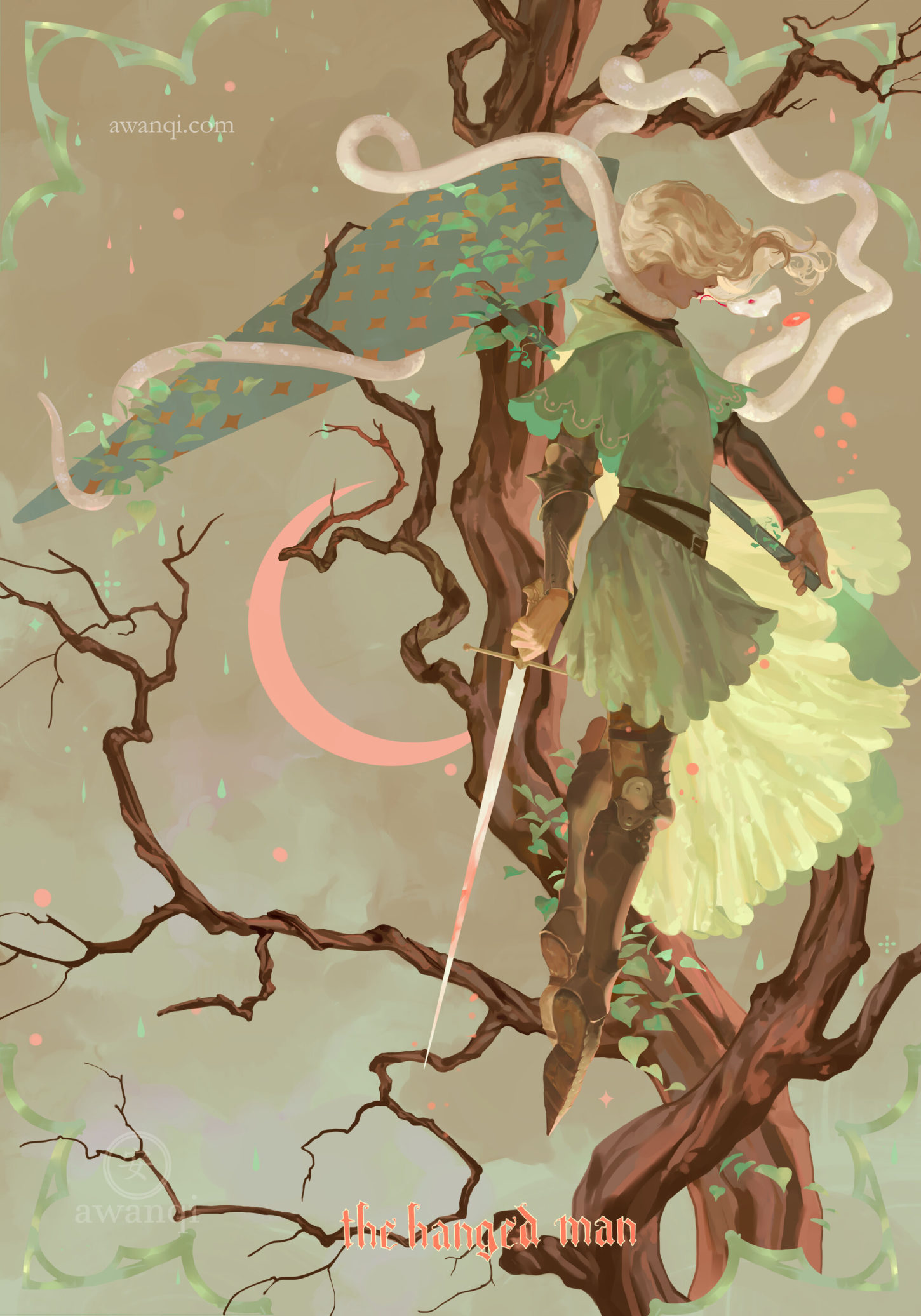 The Hanged Man, aw anqi_01