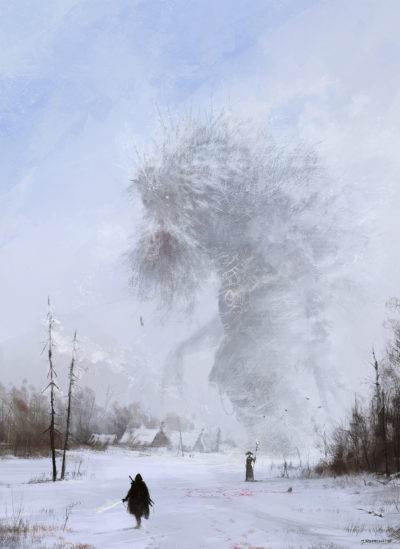 another day at work… Ded Moroz, Jakub Rozalski_01