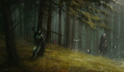 another day at work… meeting with Dryad, Jakub Rozalski_01