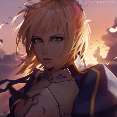 __artoria_pendragon_and_saber_fate_stay_night_and_etc_drawn_by_guweiz__sample-3c6003ec93bf397e5cd9f50f721c5cb4
