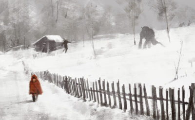 big bad wolf, Jakub Rozalski_01