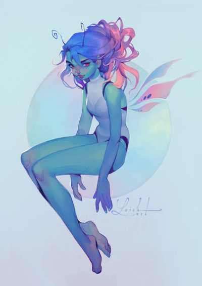 draw this again 2018 version, Lois van Baarle_01