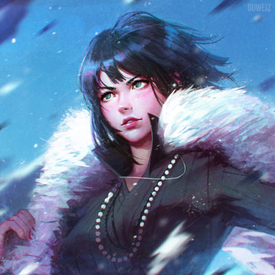 One punck man fubuki fanart by guweiz